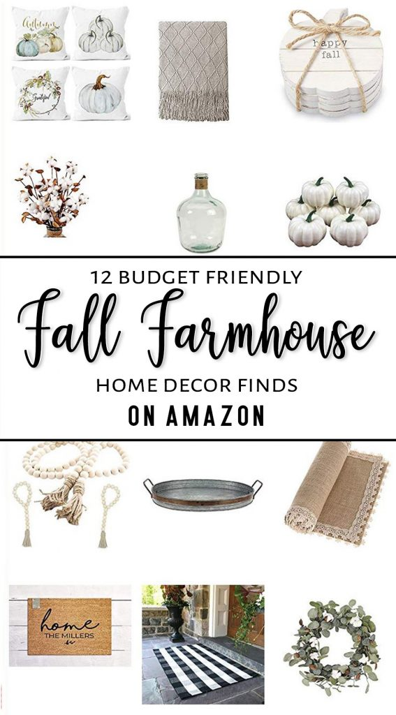 Fall Farmhouse Home Decor Neutral