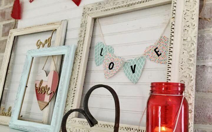 DIY Valentine's Day Home Decor Crafting Craft Idea