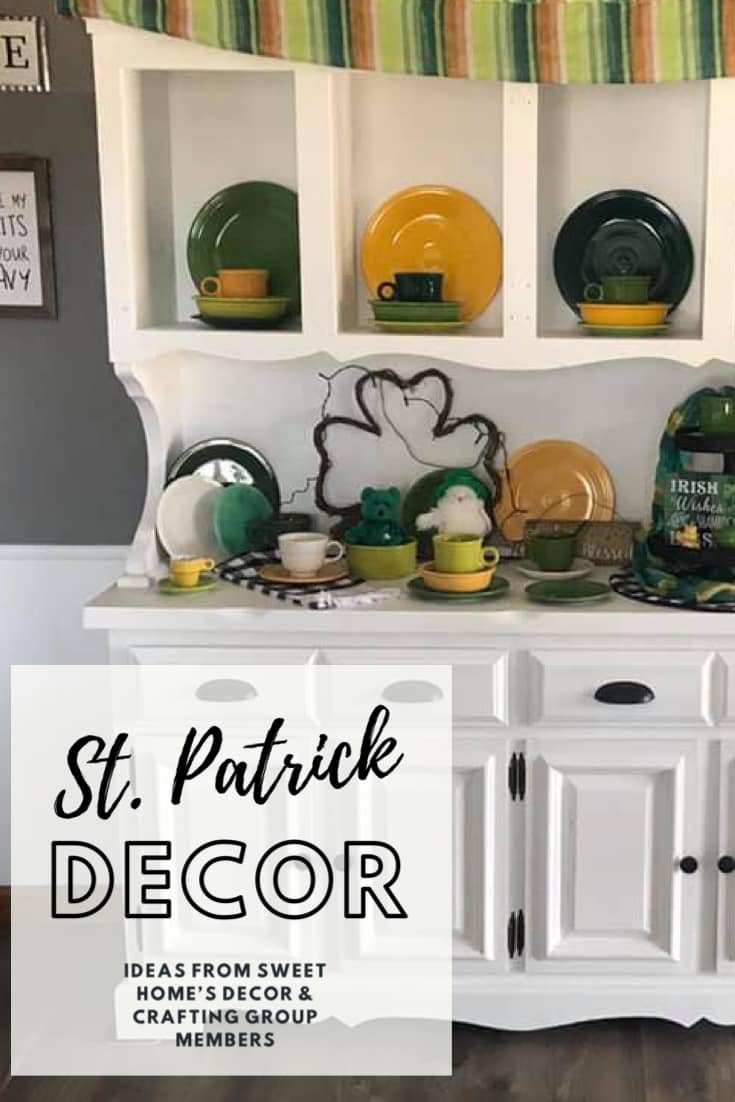 St. Patrick's Day home decorating ideas crafting idea