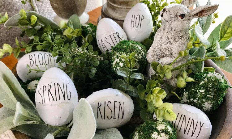 Rae Dunn Printables Spring Easter Egg words .
