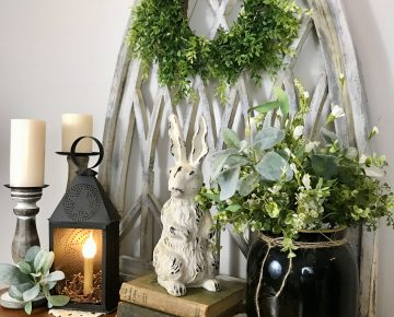 Spring Entryway Table Decor Styling Ideas