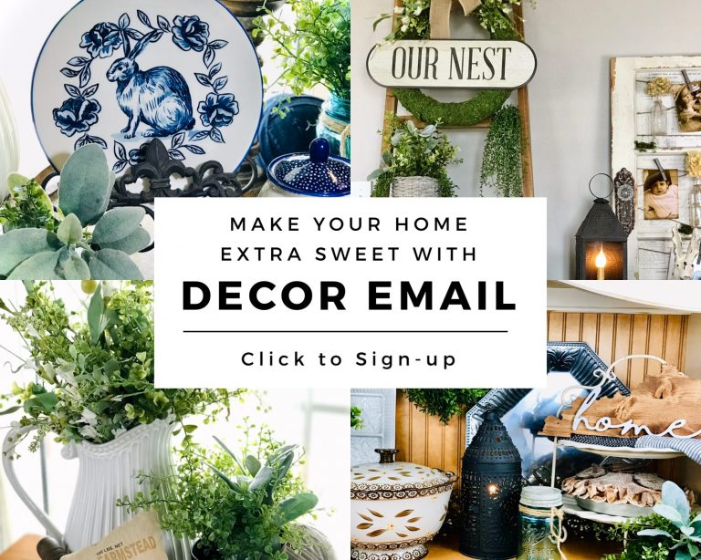 Email Sign-Up - My Sweet Home - Decor and Crafts
