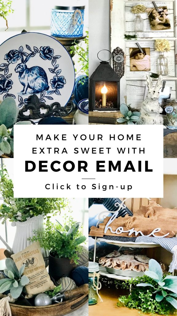 DIY Decor Email Sign-Up - My Sweet Home - Decor and Crafts