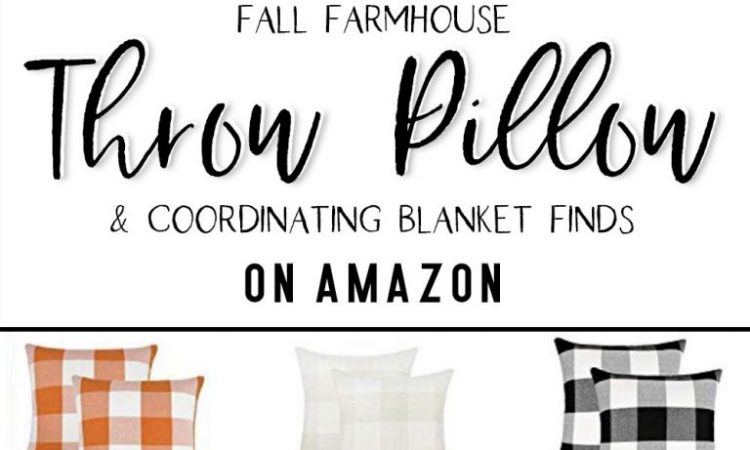 Favorite Fall Throw PIllows Shop Home Decor Farmhouse