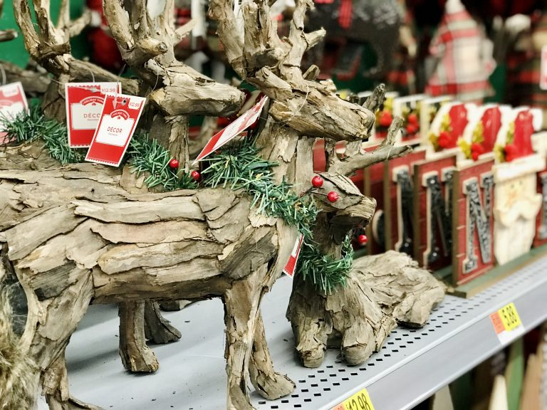 Rustic Country Natural Farm Christmas Holiday Decor from Walmart