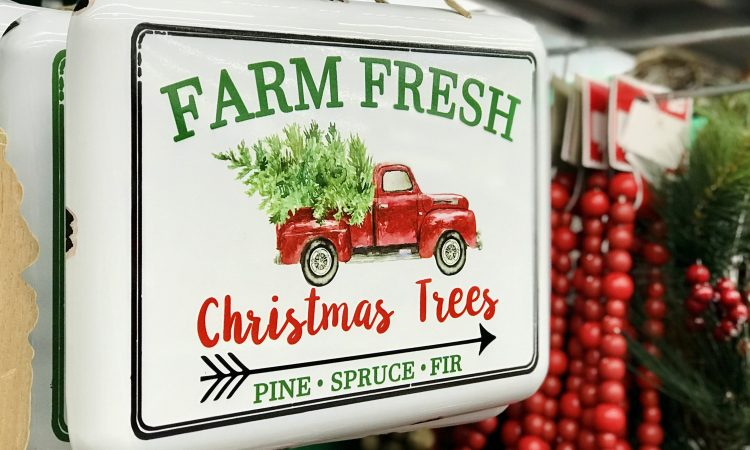 Christmas Signs at Walmart Home Decor Holiday