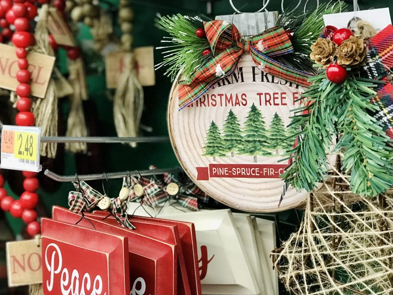 Christmas tree farm ornament Walmart
