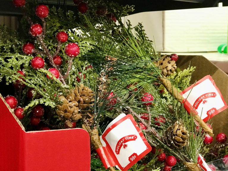 Greenery Picks Christmas holiday decor