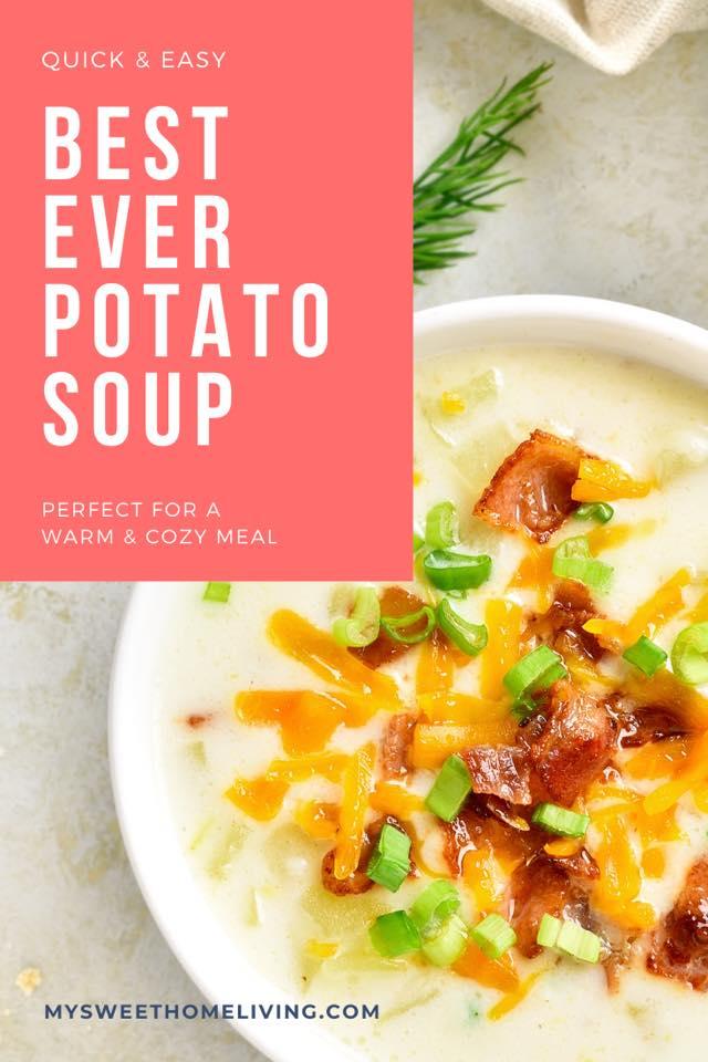 Quick and Easy Potato Soup Recipe