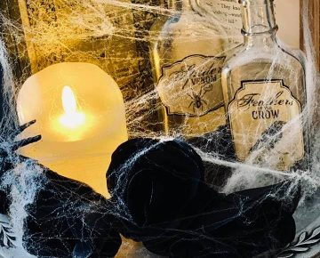 Halloween Decorating with Vintage FInds