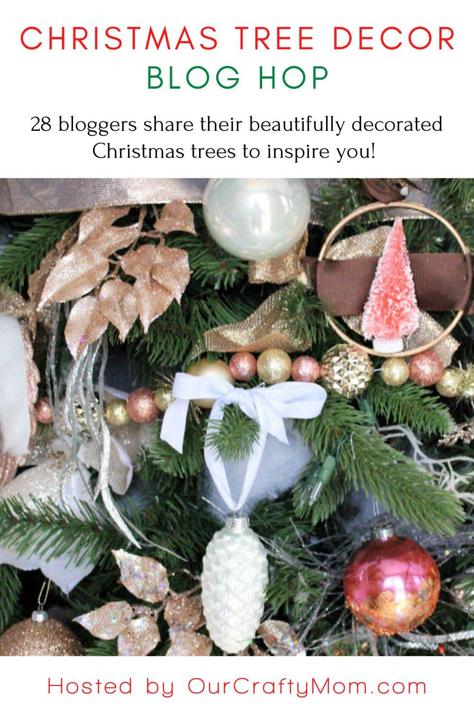 Christmas Tree Decor Blog Hop Tour