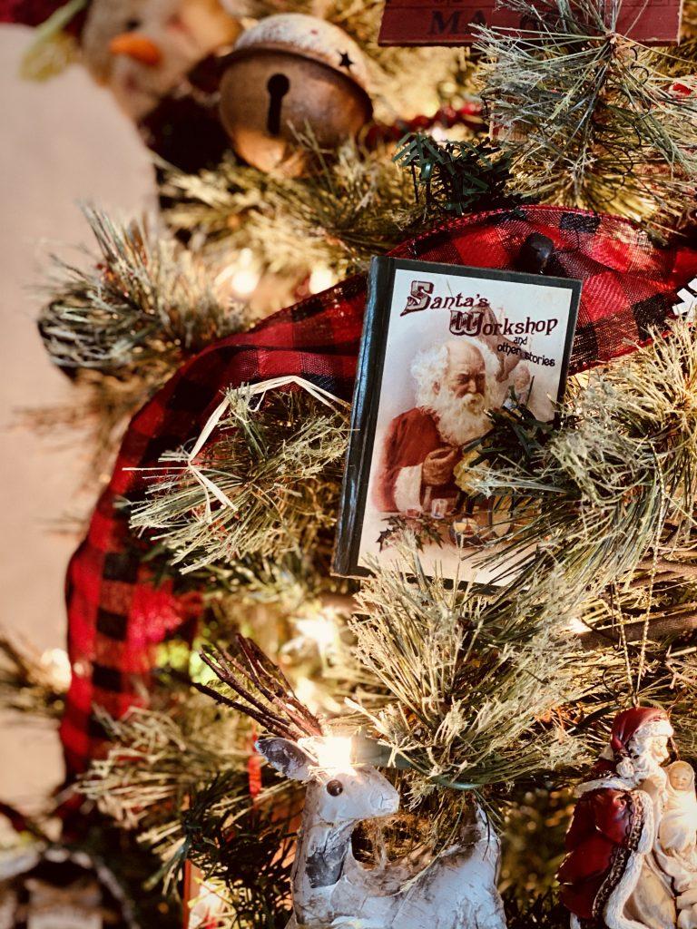 Vintage Christmas Tree Primitive DIY Ornaments